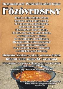 Pünkosdi főzőverseny 2015