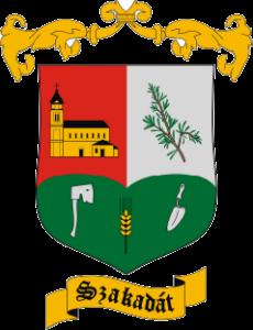 Szakadát címer
