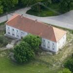 Gyönk - Légifelvétel - Magyary-Kossa kastély