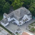 Gyönk - Légifelvétel - Sulkowsky kastély