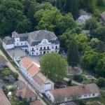 Gyönk - Légifelvétel Sulkowsky kastély