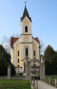 Gyönki katolikus templom