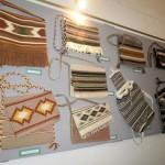 Szövő szakkör kiállítása Kölesden