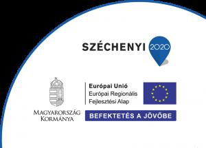 Széchenyi 2020 - Európai Únió - Európai Regionális Fejlesztési Alap - Befektetés a jövőbe